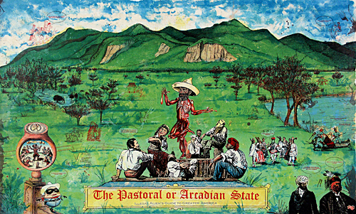 """The Pastoral or Arcadian State, Illegal Alien's Guide to Greater America"""