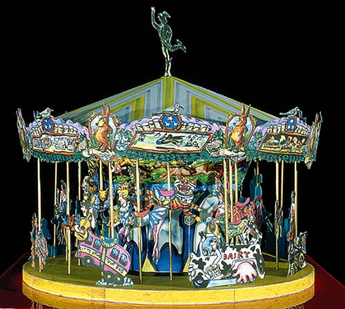"""Tennessee Fox Trot Carousel"""
